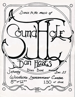 Sound Hole/Dan Hayes Blues Band-Flyer