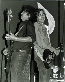 Doug Kilmer & John Cipollina (Picture courtesy of Mike Somavilla)