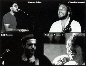 Viva Brasil 1999: Amaral, Moura, Sila, Buenz